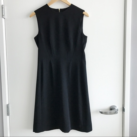 Louis Vuitton Dresses Black Sleeveless Dress With Gold Zip Poshmark